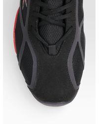 RLX Ralph Lauren | Black Mid-top Driver Sneakers for Men | Lyst