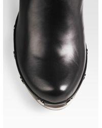 Stuart Weitzman - Black Tall Clog Boots - Lyst