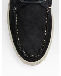 Tod's - Black Sport Cassetta Desert Boot for Men - Lyst