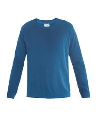 American Vintage - Blue Muskegon Crewneck Sweatshirt for Men - Lyst