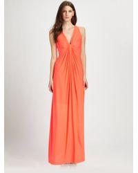 Callula Lillibelle - Orange Arlenis Gown - Lyst