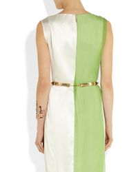 Chloé - Metallic Alexie Goldtone and Resin Belt - Lyst
