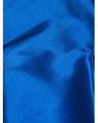 Thomas Tait | Blue Zibeline Collarless Jacket | Lyst