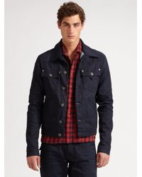 True Religion | Black Midnight Denim Jacket for Men | Lyst