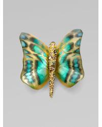 Alexis Bittar | Green Zanzibar Butterfly Pinteal | Lyst