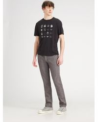 Converse - Gray Chuckin Herringbone Pants for Men - Lyst
