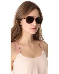 Elizabeth and James - Pink Copley Sunglasses - Lyst