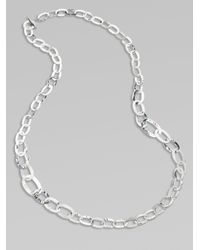 Ippolita - Metallic Long Sterling Silver Link Necklace - Lyst