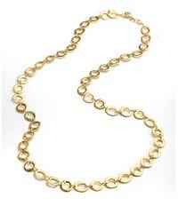 Lauren by Ralph Lauren - Metallic Metal Link Necklace - Lyst