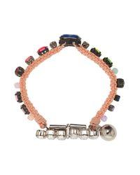 Shourouk - Multicolor Multi Color Crystal Bracelet - Lyst