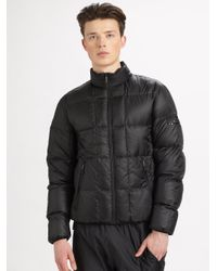 Burberry Sport | Black Puffer Jacket for Men | Lyst