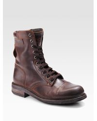 DIESEL - Brown Butch & Cassidy Boots for Men - Lyst
