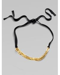 Elie Tahari - Metallic Cali Necklace - Lyst