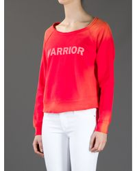Elizabeth and James | Red Warrior Sweatshirt | Lyst