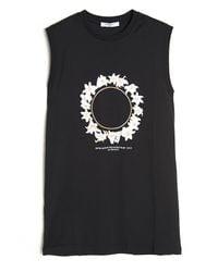 Givenchy | Black Daisy Garland Print Tank | Lyst