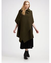 Junya Watanabe - Green Hooded Shawl - Lyst