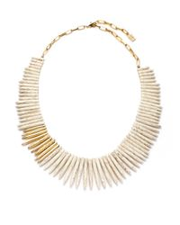 Kara Ross | Metallic Jasper Full Stick Necklace | Lyst