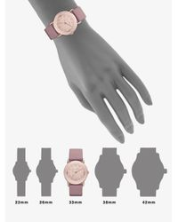 Marc By Marc Jacobs - Pink Marci Rose Gold Dial Watch - Lyst