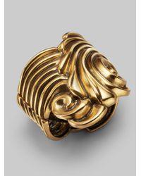 Oscar de la Renta | Metallic Coquillage Bracelet | Lyst
