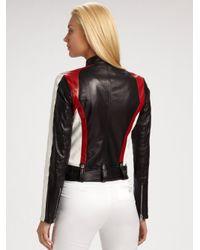 Ralph Lauren Black Label - Black Ryland Leather Motorcycle Jacket - Lyst
