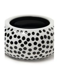 Sonia Rykiel - White Polka Dot Bangle - Lyst