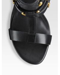 Tory Burch - Black Graham T-strap Sandal Boots - Lyst