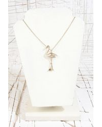 Urban Outfitters - Metallic Pendant Necklace - Lyst