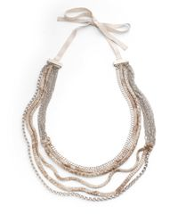 Elie Tahari | Metallic Elyse Necklace | Lyst