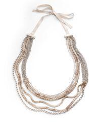 Elie Tahari - Metallic Elyse Necklace - Lyst