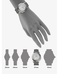 Fendi - Ceramic & Stainless Steel Bracelet Watch/Black - Lyst