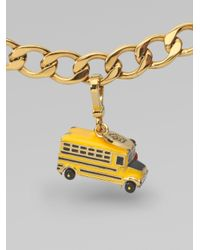 Juicy Couture - Metallic School Bus Charm - Lyst