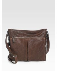 Prada | Brown Nappa Aviator Crossbody Bag for Men | Lyst