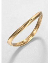 Adriana Orsini - Metallic Wave Bracelet - Lyst