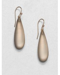 Alexis Bittar | Gray Long Lucite Raindrop Earrings | Lyst