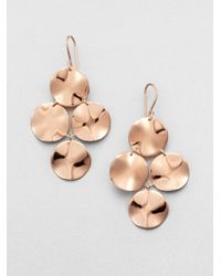 Ippolita - Metallic Rose Cascade Earrings - Lyst