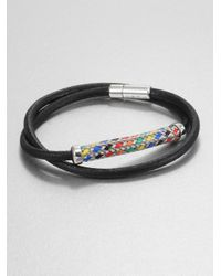 Tateossian - Multicolor Silver Pop Kaleidoscope Bracelet - Lyst