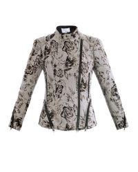 3.1 Phillip Lim | Gray Antique Floral Corded Jacket for Men | Lyst