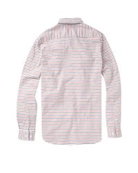 French Connection Blue Dartmouth Striped Shirt for men