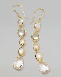 Ippolita | Metallic 18k Gold Rock Candy Gelato 5tier Drop Earrings Flirt | Lyst