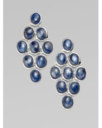 Ippolita | Metallic Sterling Silver Cascade Earrings | Lyst