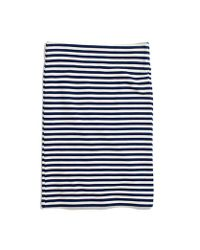 Madewell - White Striped Downtown Skirt - Lyst