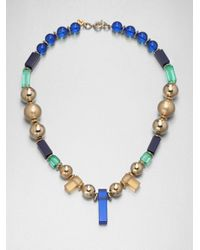Marc By Marc Jacobs | Multicolor Cleo Beaded Necklace | Lyst
