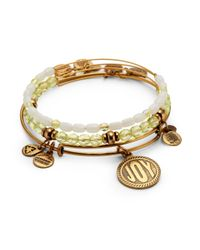 ALEX AND ANI - Metallic June Bangle Set - Lyst