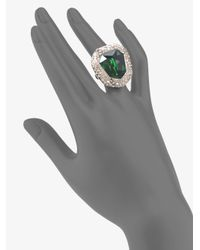 Alexis Bittar - Green Sparkle Ring - Lyst