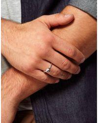 ASOS | Metallic Skull Ring for Men | Lyst