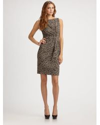 Callula Lillibelle - Multicolor Animal Print Jaquard Dress - Lyst