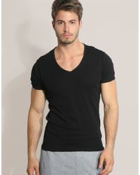 G-Star RAW | Black G Star Two Pack V-neck T-shirt for Men | Lyst