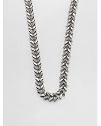Giles & Brother - Gray Ceres Necklace - Lyst
