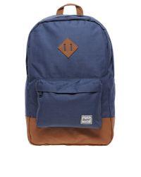 Herschel Supply Co. | Blue Herschel Heritage Backpack for Men | Lyst