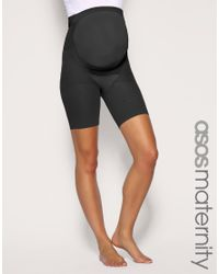 Spanx | Black Power Mama Maternity Mid Thigh Shaper | Lyst